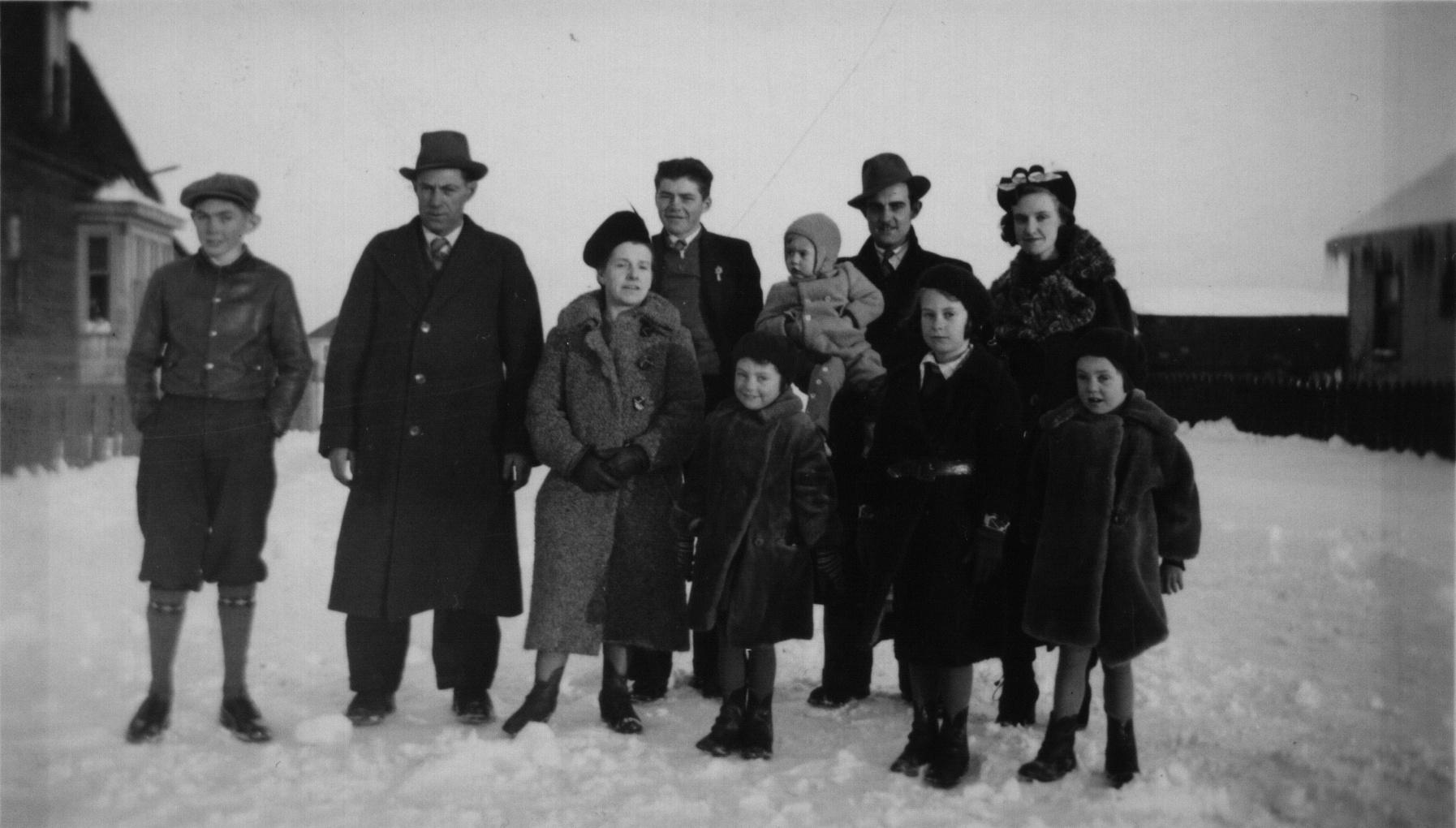 William, Martha and children